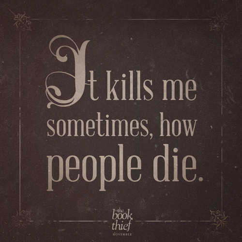 Conflict In The Book Thief Kaylie Kraemer's Site Beauteous The Book Thief Quotes